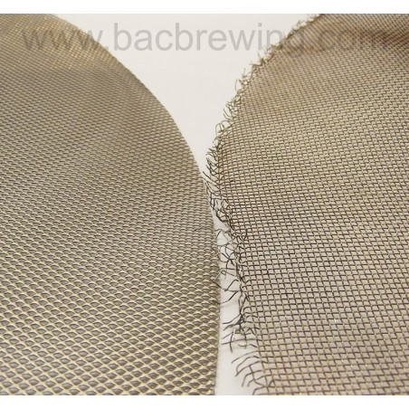 Filter disc large mesh 1,5x1,5 mm for BM20