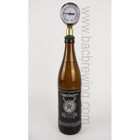 Aphrometer-Pressure gauge for bottle