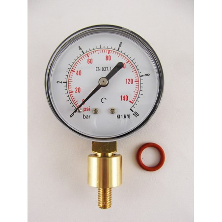 HIGH PRESSURE Aphrometer-Pressure gauge for bottle